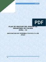 Plan de Gestion Del Riesgo de Desastres Zona 02