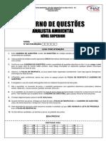 Caderno de Questões Analista Ambiental