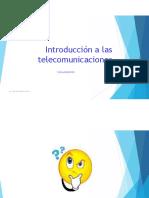 Introducción a las Telecom