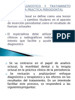 Analisis Diagnostico y Tratamineto Oclusal en La Practica