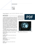 2006 a Suprarenal Mass in a Child. Pulmonary Sequestration. EJP