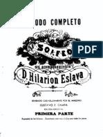 Hilarion Eslava - Metodo Completo de Solfeo