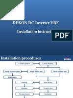 DC Inverter VRF Installation instruction.pdf