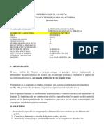 Programa Analisis Discurso