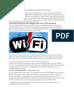 Cara Hack Password Wifi Dengan Kali Linux 100