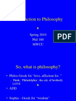 Philosophic Disciplines