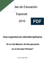 Una Experiencia Interdisciplinaria CERI 7 Esc 22