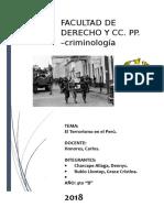 informe de criminología