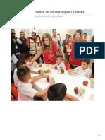 20-08-2018 -Supervisa Gobernadora de Sonora Regreso a Clases- Reporteindigo