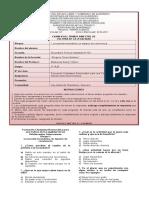 Examen Del Primer Bimestre de Cultura de La Legalidad (2010-2011)