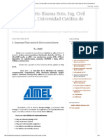 Anibal Alberto Bizama Soto, Ing. Civil Informática, Universidad Católica de Temuco_ 8. Empresas Fabricantes de Microcontroladores
