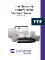 Extreme Networks Wirelles Student Guide