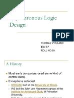 Ece511_AsynchronousLogicDesign