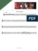 Gravity Falls Tema Principal Partitura Parte Flauta