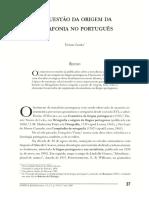A Questão Da Origem Da Metafonia No Português [Viviane Cunha]-37170-1-SM