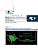 Qué Es USB File Resc