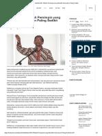 Mahfud MD_ Pilihlah Pemimpin Yang Memiliki Keburukan Paling Sedikit