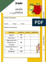 3er Grado - Diagnóstico