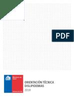 Orientación Técnica Dislipidemias. MINSAL Chile 2018