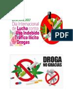 Día Internacional de La Lucha Contra El Uso Indebido y El Tráfico Ilícito de Drogas