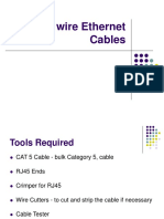 How to Wire Ethernet Cables