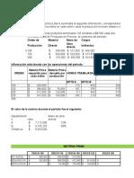 Ejercicio Costos Orden Producción