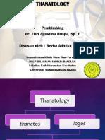 Referat -Thanatology