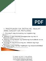 8- Lagumang Pagtataya 4rth Grading
