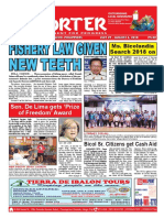 Bikol Reporter July 29 - August 4, 2018 Issue