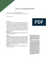 Dewan L., Santo Tomás de Aquino y la ontología hilemórfica de Aristóteles