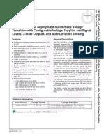 FXL2SD106 Datasheet