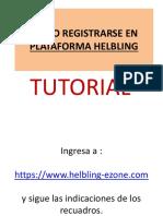 Tutorial - Como Realizar Registro en Platafroma Helbling (1)