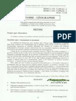 Hist Geo Bac a B C D 2014