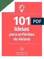 101 Ideias Para Anfitrioes Do Airbnb