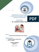 Valoracion Diagnostica Del Adulto Mayor