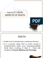 Medico Legal Aspects of Death