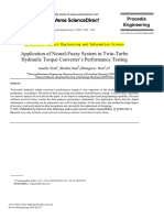 Application of Neural-Fuzzy System in Twin-Turbo