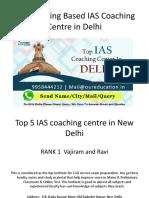 Top IAS Coaching Centre in Delhi