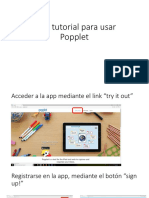 Mini tutorial para usar Popplet