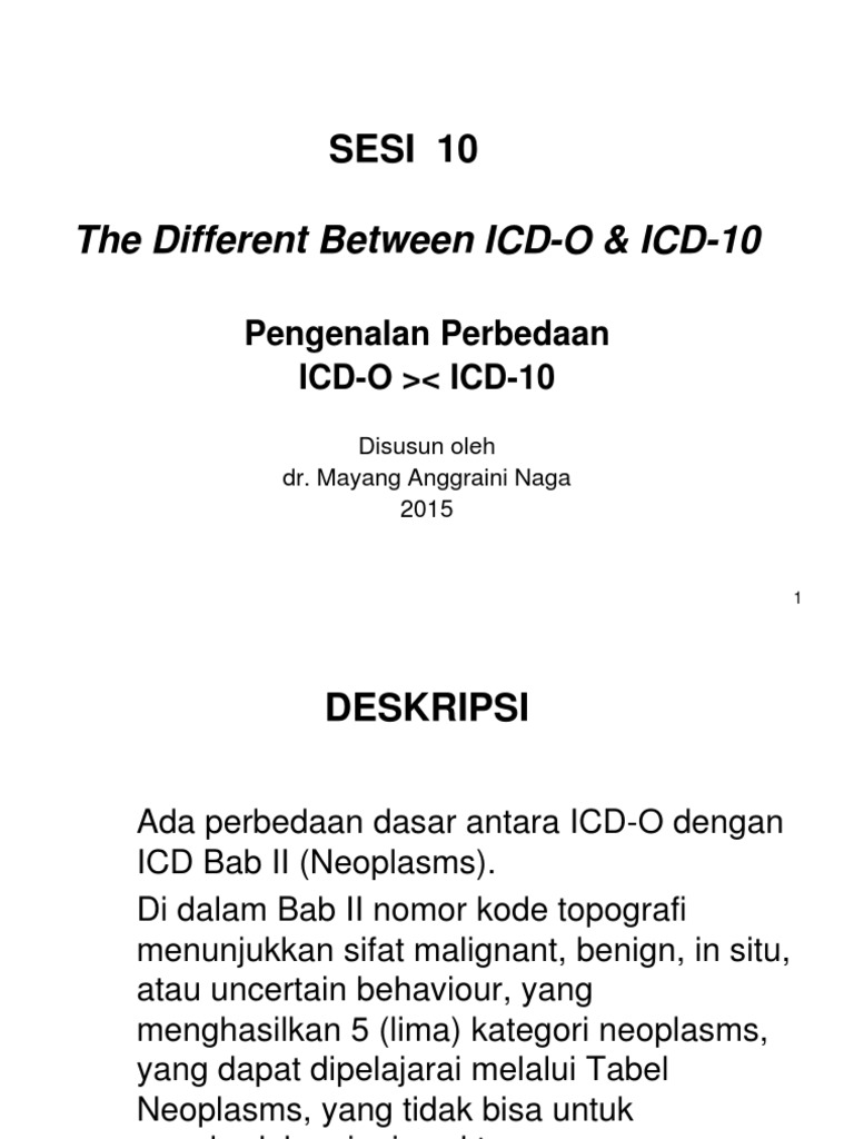 10 The Different Between Icd 0 Icd 10