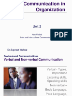 Unit 2 -nonverbal & inter ,intracultural communication.ppsx