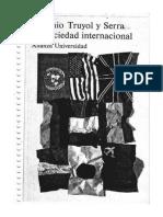 Truyol, A - La Sociedad Internacional