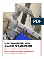 Electromagnetic Tool Changer for ABB IRB1200 by Chandrashekhar Chudmunge
