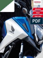 Catalogo Honda 2016