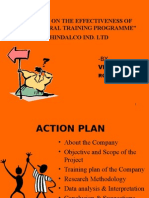 hindalco project ppt