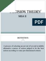 Decision Theory-Reeta Chauhan