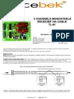 Cebek Tl 50 User Manual