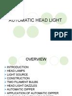 Automatic Headlight PPT
