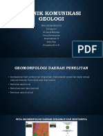 Teknik Komunikasi Geologi Fixx