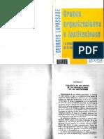 LAPASSADE Cap v Dialectica de Grupos de Organizaciones y de Instituciones U1
